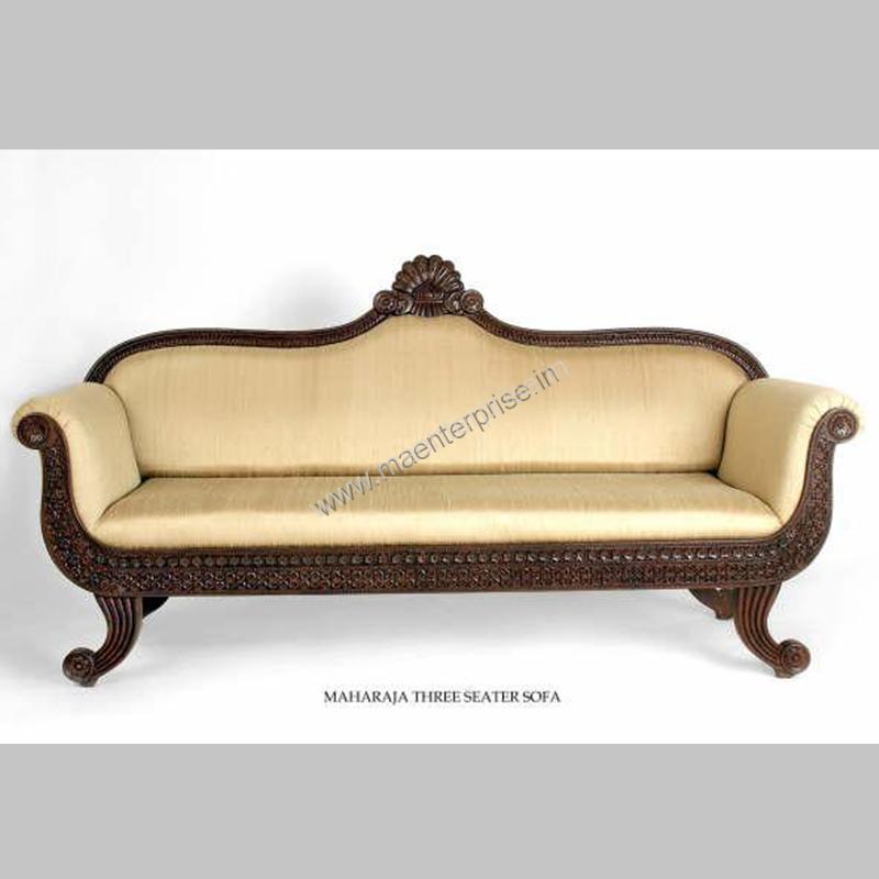 Indian Wooden Sofa Set Designs